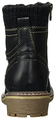 Black Schwarz TOM 379990930 TAILOR Stiefel Damen XwqTgFv