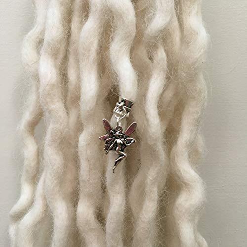 Tibetan Silver Faerie Dreadlock Bead Charm