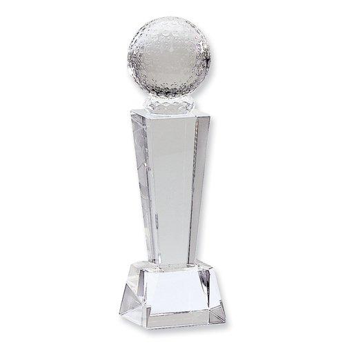 クリスタルゴルフ賞 – エッチングパーソナライズギフト項目ホームガーデンリビングギフト B015ZY8U20