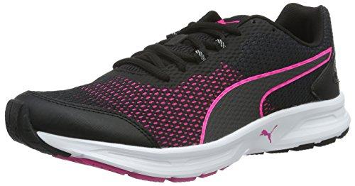 Puma Descendant V4 Wn's - Zapatillas de Entrenamiento Mujer Negro (Puma Black-pink Glo 02)