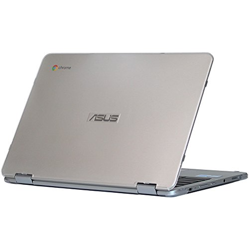 iPearl mCover Hard Shell Case for 12.5-inch ASUS Chromebook Flip C302CA Series Laptop - Clear