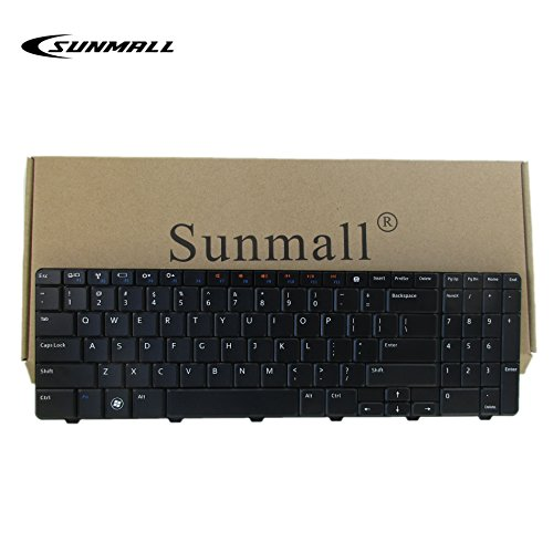SUNMALL New Laptop Keyboard for Dell Inspiron 15R 5010 M5010 M501R N5010 09GT99 NSK-DRASW 96DJT 096DJT NSK-DRASW series Black US Layout
