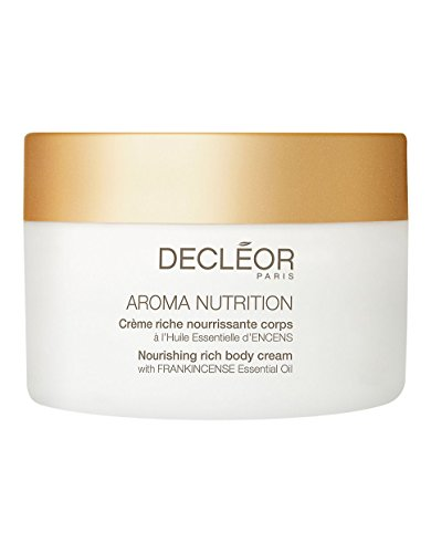 Cream Hand Nourishing Decleor - Decleor Aroma Nutrition Nourishing Rich Body Cream, 6.9 Fluid Ounce