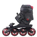 Original Doop Leisure Roller Skating Shoes 484Mm Or 3100Mm Wheels Leisure Skates Free Skating Athletic Street Patines,Blue L 4-84Mm