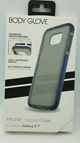 Body Glove Prizm Impact Case for Galaxy S7 - Frost / Blue Rims