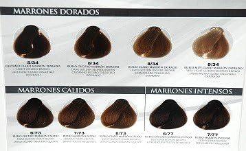 Tinte Olvi Profesional 60ml 6/77 Rubio Oscuro Marron Intenso ...