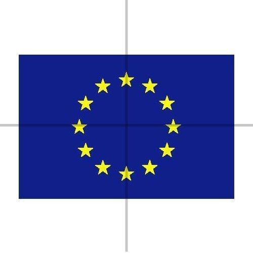 Tfxwerws 1,5x 0,9m bandiera dell' Unione Europea bandiera nazionale