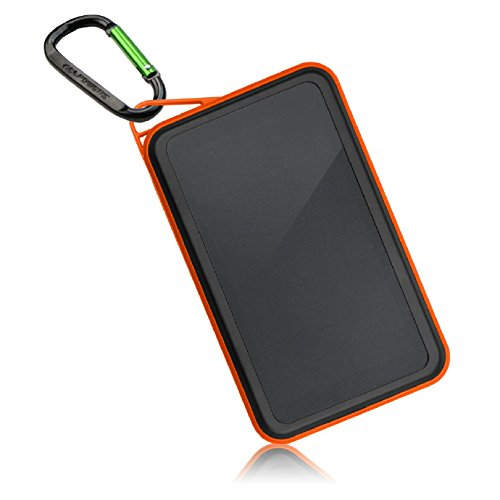 ALLPOWERS 15000mAh Solar Charger with SunPower Solar Panels & Dual USB Output, iSolar Technology, 3.4A Quick Charge Output for cell phone, iPhone, iPad, Samsung and More
