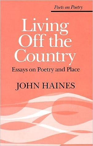 Essays on poetry