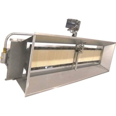 HeatStar High-Intensity Infrared Natural Gas Heater - 100,000 BTU, Model# F191828