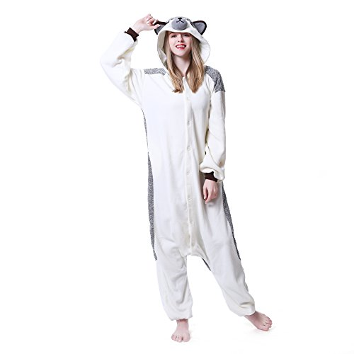 8cbd269cd132 Dobelove Unisex Hedgehog Onesie Costume Adult Pajamas - Costume ...