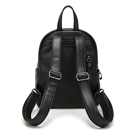 Sports Sac Black ZHXUANXUAN Femme Pu 2018 Ladies Mode Sac Dos à à Bandoulière Leisure vvXRxHZqw