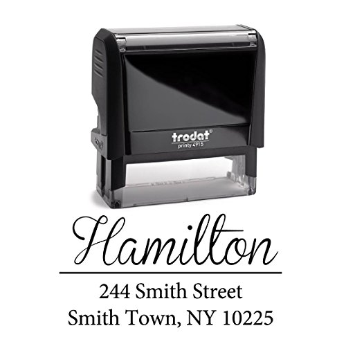 Personalized Self Inking Stamp Housewarming