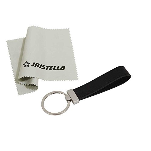 Jnjstella Genuine Leather Key Fob Chain Ring Keychains Black