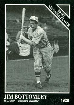 Jim Bottomley Baseball Card (St. Louis Cardinals) 1991 Sporting News Conlon Collection #302 - Conlon Collection