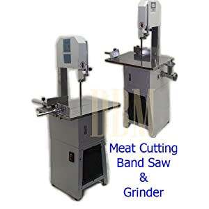 Butcher Meat Cutting Cutter Band Saw Mincer Grinder Sausage Stuffer Maker by Generic