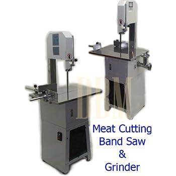 butcher band saw machine. butcher meat cutting cutter band saw mincer grinder sausage stuffer maker by generic machine w