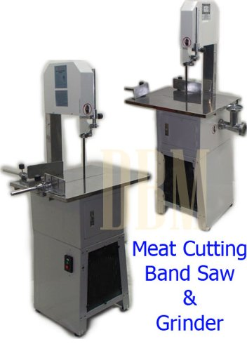 Butcher Meat Cutting Cutter Band Saw Mincer Grinder