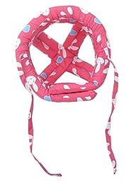 Baby Infant Toddler Children No Bumps Safety Helmet Head Cushion, Red Rabbit