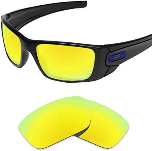 ff9fd04db3 Tintart Performance Replacement Lenses for Oakley Fuel Cell Sunglass Polarized  Etched