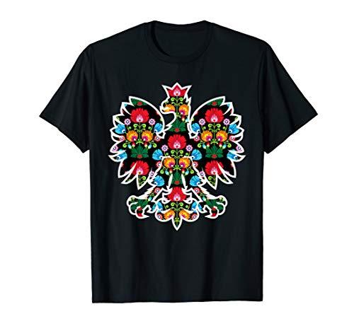 POLISH EAGLE | Poland WYCINANKI Emblem, Polish Fest T-shirt