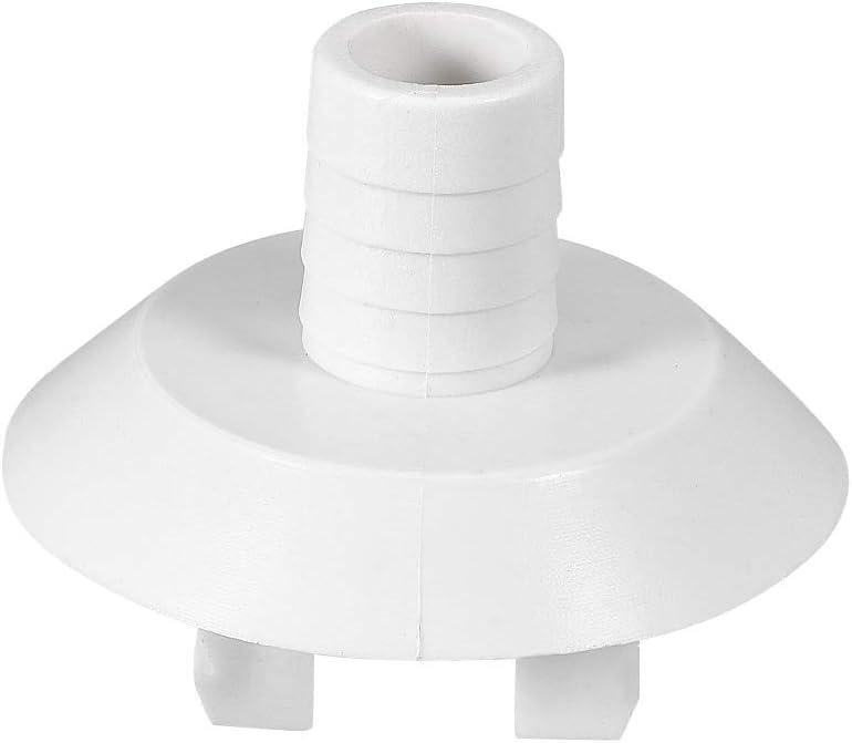 sourcing map Acople Codo Conector Manguera Drenaje Aire Acondicionado para Unidades Mini Split y Piezas Unidad AC Ventana 28mm 1 pieza