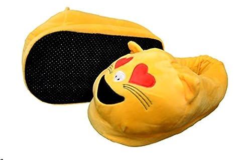 Emoji Slippers (Cat Emoji)