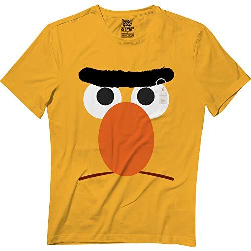 Springtee Yellow Puppet Bert Halloween Monster Costume Kids & Adult Tshirt]()