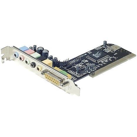 PCI - Dolby 5.1 tarjeta de sonido: Amazon.es: Informática