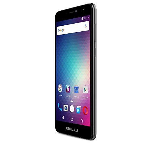 BLU Studio Mega LTE - 6.0' HD Unlocked Smartphone -16GB +2GB RAM-Black