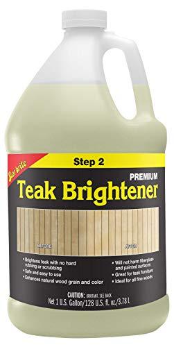 Star brite Premium Teak Brightener - Step 2-1 gal