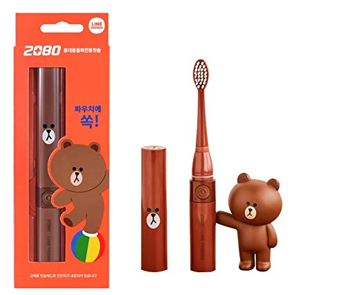 Line Friend Electric Toothbrush with Brown Character