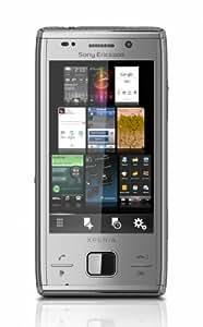 Sony Ericsson X2 Xperia Silver Unlocked GSM QWERTY Keyboard, Quad-Band,8.1 Megapixel Camera, Video-/MP3-Player, WLAN, Bluetooth, USB, microSD Slot