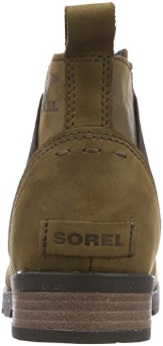 Emelie Major Black Sorel 245 Botines Chelsea Femme arnum Marron d7vYPqcv
