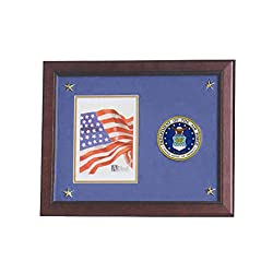 Allied Frame United States Air Force Vertical Picture Frame With Medallion & Stars