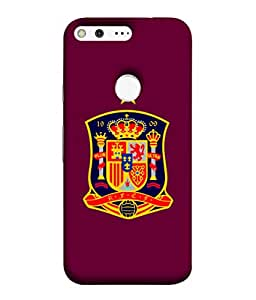 ColorKing Football Spain 11 Pink shell case cover for Google Pixel xL