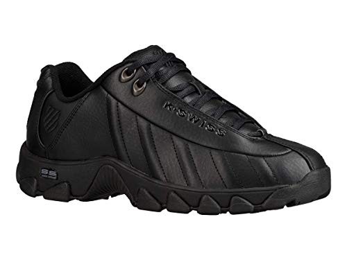 K-Swiss Men's ST329 CMF Training Shoe, Black, 8.5 M US