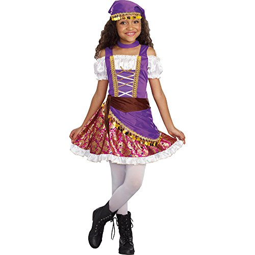 Totally Ghoul Gypsy Princess Costume, Girl's Size Large, Ages -