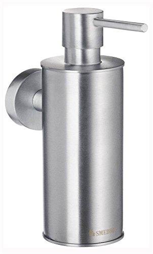 Smedbo SME HS370 Soap Dispenser Wallmount, Brushed Chrome,