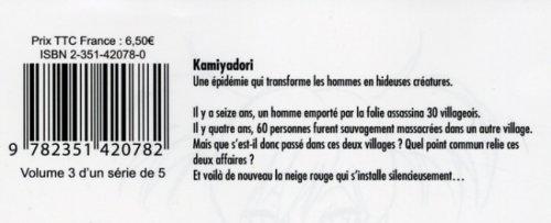 Kamiyadori, Tome 3 :