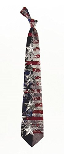 God Bless America Silk Necktie