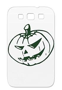 Shatterproof Lantern Jack O Halloween Jack Lantern Holidays Occasions Pumpkin Black For Sumsang Galaxy S3 O Protective Hard Case