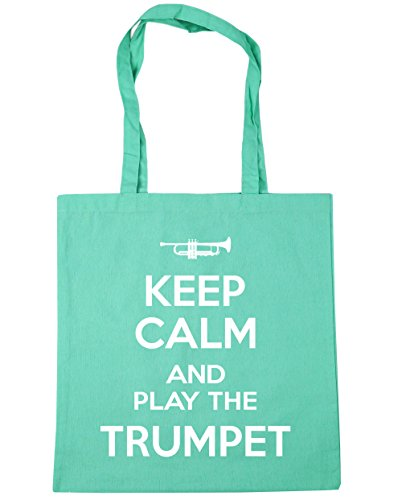 litres Calm Shopping 10 Gym the HippoWarehouse Trumpet 42cm Bag Tote Play Beach Keep and Mint x38cm R50A6w