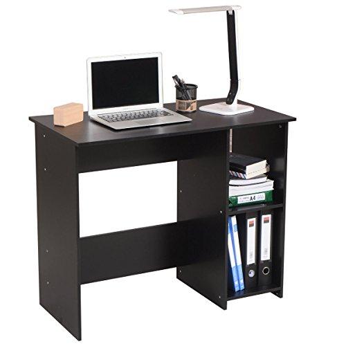 Computer Workstation Desk Home Office Study Dorm Wood Modern Table