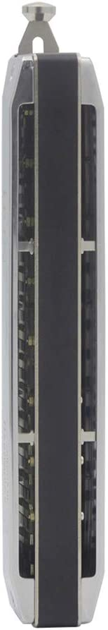 ACHICOO IRIN 1664 16 Holes 64 Tone Chromatic Scale Harmonica Random Color Wipe Cloth Case