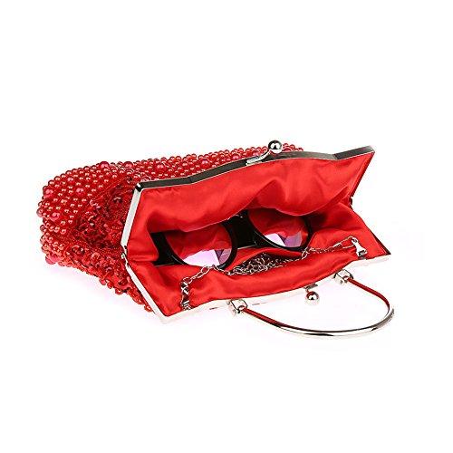 YanRun, Poschette giorno donna Red