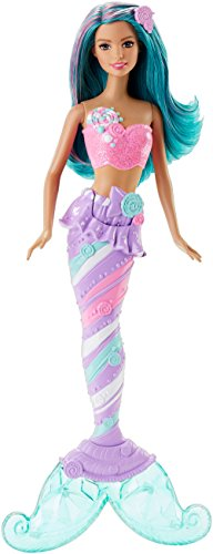 Barbie Mermaid Doll, Candy Fashion ()