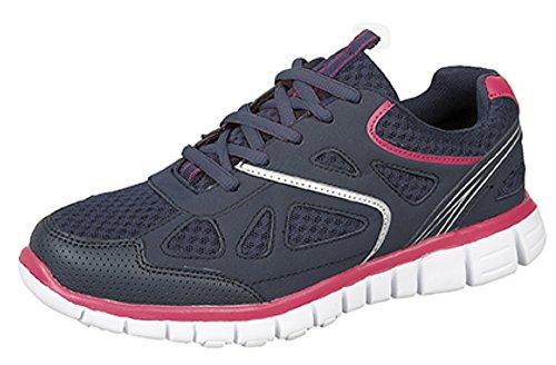 DekRaidiance - Zapatillas mujer Negro - negro/rosa