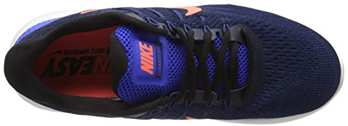 Nike Herren Lunarglide 8 Laufschuhe Hyper Cobalt / Loyal Blau / Helle Mango / Schwarz
