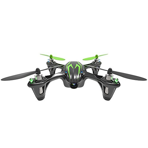 Hubsan H107C X4 Quadcopter Drone with Camera (black/green)